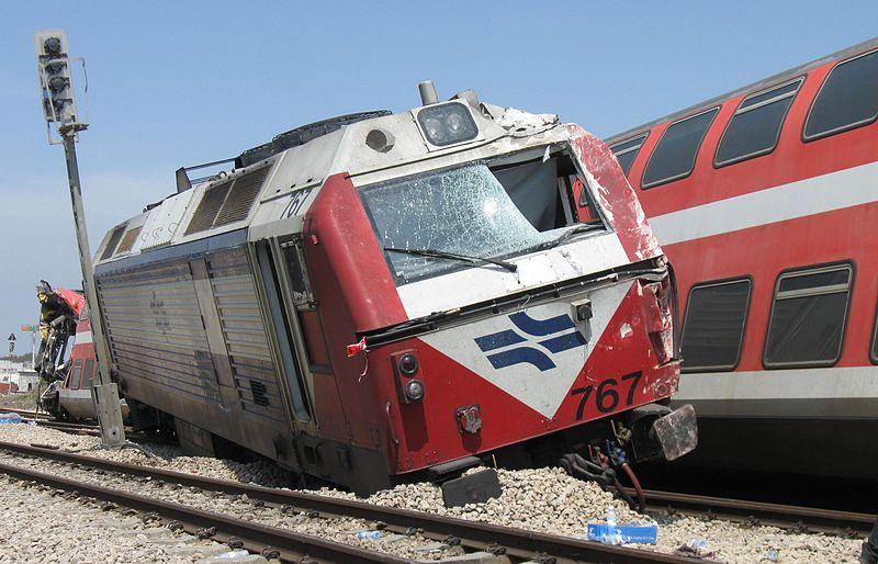 Freight train derailment in El Paso Texas causing major damage